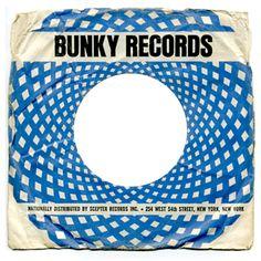 Vintage record sleeves