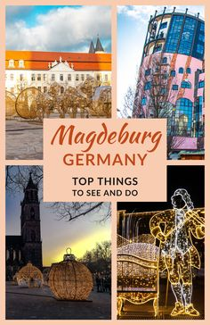 Brimming with charm and cheer, Magdeburg, One of the oldest cities in Germany gifted me many beautiful memories. I reached Magdeburg from Berlin and enjoyed this day trip. Here are a list of things to see in this beautiful city. #Magdeburg #Germany #DaytripfromBerlin #TravelRealizations