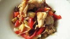 Poulet à l'orientale cuisiné au cuiseur à riz