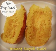 Paleo Challenge {Prep Week: Introducing the Spaghetti Squash! Be Well. Paleo Spaghetti Squash, Meat Sauce, How To Eat Paleo, Prepping, Healthy Eating, Low Carb, Challenge, Wellness, Strong