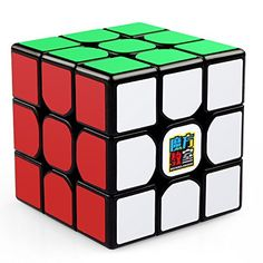 Coogam Moyu Cubing Classroom MF3RS 3x3 Speed Cube Puzzle Toy Black: ul liThe Moyu Cubing Classroom MF3RS features great performance and premium design features that push the boundaries of what a budget-friendly cube can do.Out of the box, it has amazing corner cutting and smooth turning.Difficult to pop,the MF3RS is sure to be a top choice for both beginners and intermediate cubers./b/i/li /ul ul liEnjoy hours of fun with this cube,it has billions of mind-boggling combinations, but o...