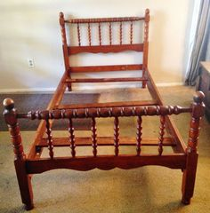 four post jenny lind twin bed by on etsy - Jenny Lind Twin Bed