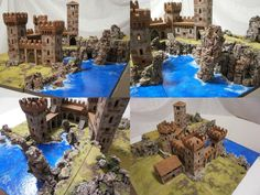 28mm Fantasy Terrains, D&D 3-dimensional representation with Dwarven Forge and more..