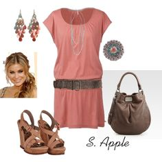 """""""Pink Dress"""" by sapple324 on Polyvore"""