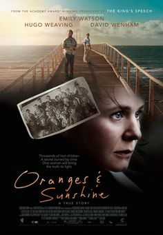 "Oranges and Sunshine is a 2010 drama film directed by Jim Loach with screenplay by Rona Munro. The film tells the story of Margaret Humphreys, a social worker from Nottingham who uncovered the scandal of ""home children"", a scheme of forcibly relocating poor children from the UK to Australia and Canada. Margaret reunites estranged families and brings worldwide attention to the cause."