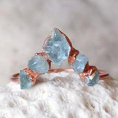 Raw Aquamarine Bar Ring for Women Gold Ring March | Etsy Black Tourmaline Ring, Tourmaline Jewelry, Aquamarine Jewelry, Aquamarine Stone, Fall Jewelry, Quartz Ring, Stone Rings, Gold Rings, Crystal Ring