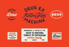 Design, Typography, Logo, Vintage, Texas in Identity