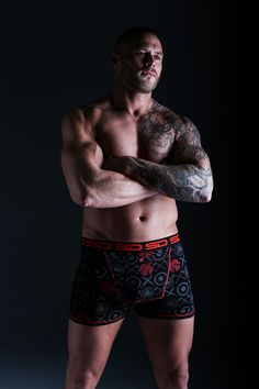 Famous for their trademark long boxer briefs with a stash pocket, British brand Smuggling Duds, releases a new collection called The North Sea featuring prints with England, Scotland, Viking and Pirate inspired designs! Boxers Underwear, Boxer Briefs, Viking Knotwork, Odin Symbol, Viking Designs, Big Design, North Sea, Grey Pattern, Vikings