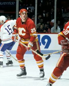 Joe Nieuwendyk | Calgary Flames | NHL | Hockey