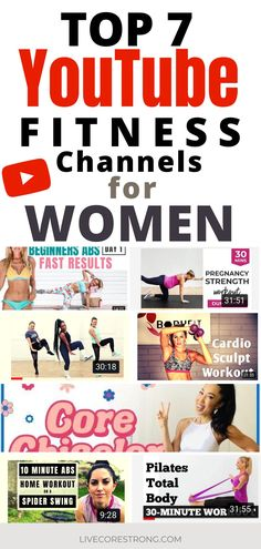 Best Fitness Channels on YouTube for Women (free YouTube workout videos for moms)