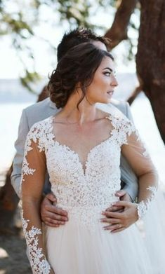 BREATHTAKING Essense of Australia Size 8 wedding dress perfect for your nature-inspired, garden wedding! Save 40% on this elegant, long-sleeve wedding dress for your special day!  #EssenceOfAustraliaBridal #PreLovedWeddingDresses #UsedWeddingDresses #DesignerWeddingDresses