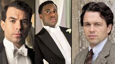 Downton Abbey | Season 4: Who Are the Hunks? | Links to an adorable video on the PBS website!