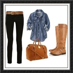 looks like a lunch and coffee date kind of outfit(: