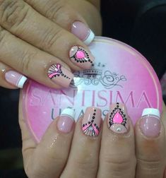 Cute Nail Art, Nail Art Diy, Fingernail Designs, Nail Art Designs, Love Nails, Fun Nails, French Polish, Acrylic Nail Art, Nail Technician