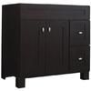 allen + roth Espresso Palencia Contemporary Bath Vanity at Lowes Lowes Bathroom, Laundry In Bathroom, Bathroom Cabinets, Bathroom Vanities Without Tops, Bath Vanities, Allen Roth, Contemporary Baths, Dark Brown Color, Home Remodeling