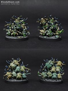 The Internet's largest gallery of painted miniatures, with a large repository of how-to articles on miniature painting Warhammer Paint, Warhammer Models, Warhammer Fantasy, Chaos Legion, Chaos Daemons, Fantasy Battle, Warhammer 40k Miniatures, Fantasy Miniatures, Mini Paintings
