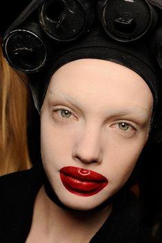 Peter Phillips - makeup artist - Alexander McQueen