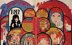 """sweetjanespopboutique: """" Woolworth's Baby Doll Cosmetics (Image scanned by Sweet Jane) """" Baby Doll Makeup, Vintage Makeup, Graphic Design Typography, Psychedelic, Baby Dolls, Vintage Fashion, Vintage Style, Childhood, Retro"""