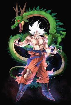 Goku Mastered Ultra Instinct   Fanart