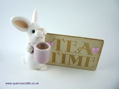 Little Tea Time Bunny Tea Time, Bunny, Pasta, Clay, Mugs, Gallery, Tableware, Crafts, Clays