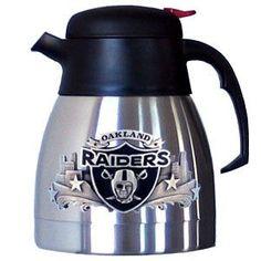 NFL Coffee Carafe - Oakland Raiders