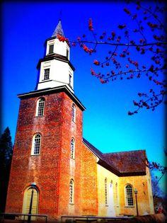 Bruton Perish Church, Colonial Williamsburg, VA