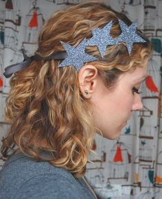 This whimsical headband is great for nights out on the town or any type of celebratory event. Easy to make and super fun to wear, we recommend this project for the starlit in you!