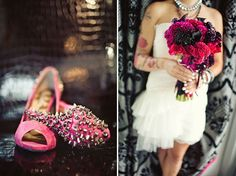 {Inspiration} Un mariage Rock and Roll « Mots d'amour