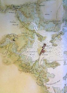"DesBarres ""Boston Bay"" 1776"