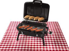 Parkview Griller Sausages and Range Master Propane Camping Grill from ALDI