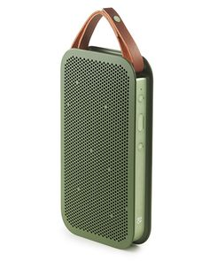 B&O PLAY by Bang & Olufsen A2 Bluetooth Speaker ($399) - No, you shouldn't rely on ye olde phone-in-a-cup trick. Invest in a serious portable speaker with a handy leather strap and battery that lasts up to 24 hours.