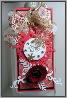 Wine Bottle Gift Tag... by Ashdale - Cards and Paper Crafts at Splitcoaststampers