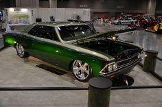 randy rich's '66 chevelle - (best custom- best in class  #ISCA)