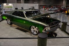 randy rich's '66 chevelle - (best custom- best in class  #ISCA)