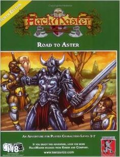 Hackmaster Adventure: Road to Aster