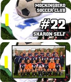 Personalized Soccer Bag Tags With Team Photo - Volume Discount