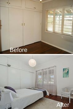 Bedroom Renovation Before And After bedroom #renovation | renovation - before & after photos