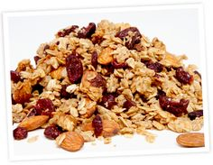 Gourmet Cranberry Cashew Granola | Healthy & Gluten Free Recipes