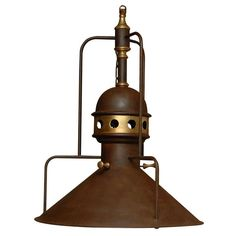 Railroad Station Lantern | From a unique collection of antique and modern chandeliers and pendants at https://www.1stdibs.com/furniture/lighting/chandeliers-pendant-lights/