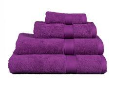 Toalla rizo Estela morada   Revitex textil-hogar
