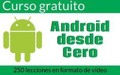 Android desde cero es el nombre que recibe este excelente curso gratuito para aprender a crear apps Android con la herramienta Android Studio.
