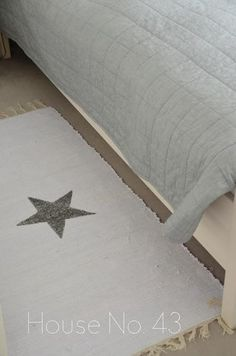 DIY Stern Teppich - DIY star carpet