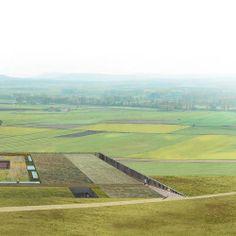 Linazasoro Sánchez . centro de recepción en el yacimiento arqueológico de Clunia . Burgos (1)