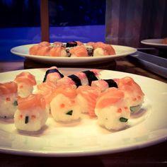 Hungry Birds #sushi #lapland