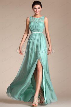 Carlyna 2014 Nuevo vestido de noche/fiesta sin mangas superior encaje A-line (C00145204)