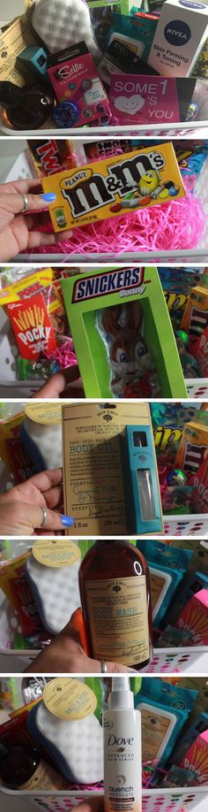 Pampering   Easy DIY Easter Basket Ideas for Teens   Easy Gift Ideas for Friends Birthday