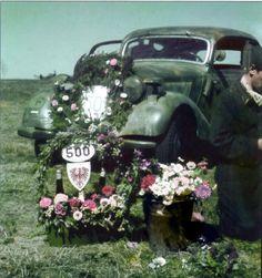 helmut benkendorff stuka pilot welcoming ceremony car