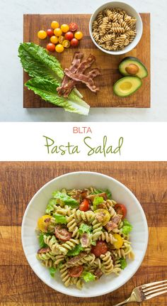 Cold pasta salads are the perfect solution for weeknight dinners and yummy leftovers. With less than 5 ingredients, this BLTA Pasa Salad keeps it fresh and simple for summer ☀️ #FunFoodSun