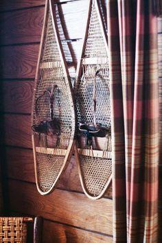 vintage snowshoes <3 #LoveLakePlacidLodge