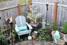 The Inspired Room Secret Garden - Backyard Decorating